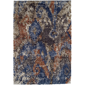 Arturro Multicolor Rectangular: 3 Ft. 3 In. x 5 Ft. 1 In. Rug