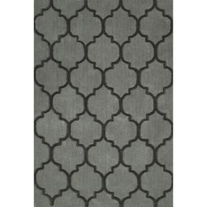 Dakota Silver Rectangular: 3 Ft. 6 In. x 5 Ft. 6 In. Rug