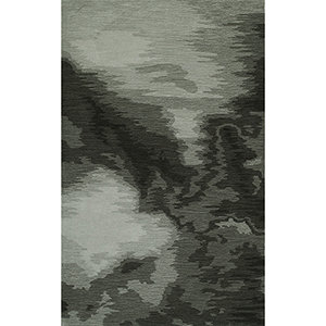 DelMar Graphite Rectangular: 3 Ft. 6 In. x 5 Ft. 6 In. Rug