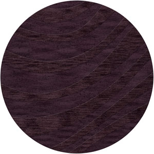 Dover DV12 Grape Ice Round: 12 Ft. Area Rug