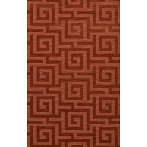 Dover DV13 Coral Rectangular: 9 x 12 Ft.  Area Rug