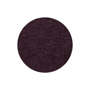 Dover DV3 Grape Ice Round: 10 Ft. Area Rug