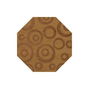 Dover DV5 Gold Octagonal: 10 Ft. Area Rug