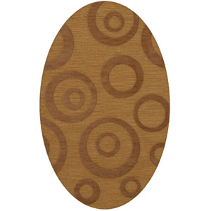 Dover DV5 Gold Oval: 10 x 14 Ft.  Area Rug