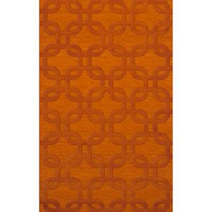 Dover DV7 Orange Rectangular: 3 x 5 Ft.  Area Rug