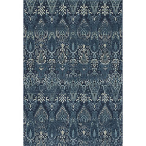 Geneva Navy Rectangular: 7 Ft. 10-Inch x 10 Ft. 7-Inch Rug