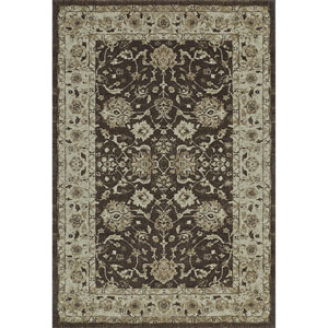 Geneva Chocolate Rectangular: 9 Ft. 6-Inch x 13 Ft. 2-Inch Rug