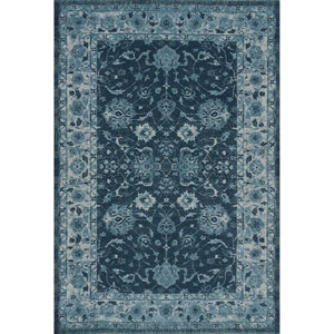 Geneva Teal Rectangular: 9 Ft. 6-Inch x 13 Ft. 2-Inch Rug