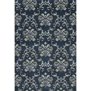 Geneva Navy Rectangular: 9 Ft. 6-Inch x 13 Ft. 2-Inch Rug