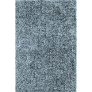 Illusions Sky Blue Rectangular: 3 Ft. 6-Inch x 5 Ft. 6-Inch Rug