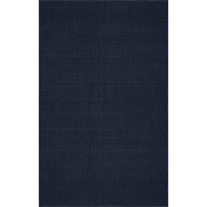 Monaco Sisal Navy Rectangular: 5 Ft. x 8 Ft. Rug