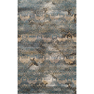 Rossini Teal Rectangular: 9 Ft. 6-Inch x 13 Ft. 2-Inch Rug