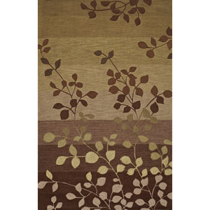 Studio Lime Rectangular: 3 Ft. 6-Inch x 5 Ft. 6-Inch Rug