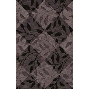 Studio Black Rectangular: 3 Ft. 6-Inch x 5 Ft. 6-Inch Rug