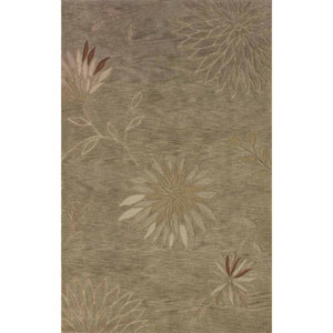 Studio Aloe Rectangular: 3 Ft. 6-Inch x 5 Ft. 6-Inch Rug