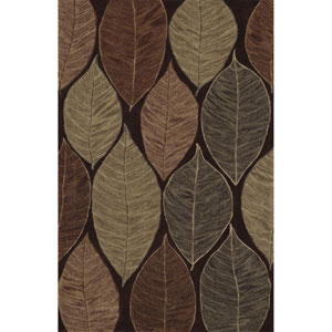 Studio Chocolate Rectangular: 3 Ft. 6-Inch x 5 Ft. 6-Inch Rug
