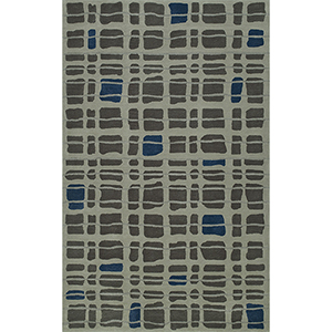 Santino Steel Rectangular: 3 Ft. 6 In. x 5 Ft. 6 In. Rug