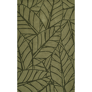 Santino Fern Rectangular: 3 Ft. 6 In. x 5 Ft. 6 In. Rug