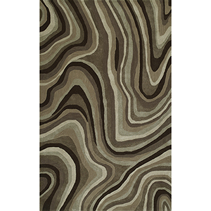 Santino Chocolate Rectangular: 3 Ft. 6 In. x 5 Ft. 6 In. Rug