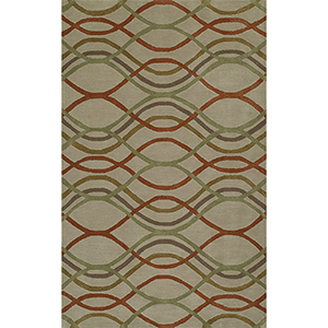 Santino Sand Rectangular: 3 Ft. 6 In. x 5 Ft. 6 In. Rug