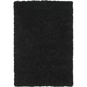 Utopia Black Rectangular: 3 Ft. 6-Inch x 5 Ft. 6-Inch Rug