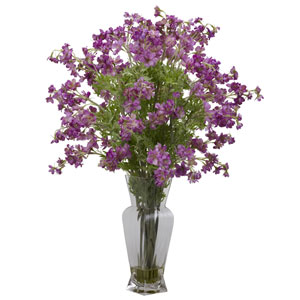 Purple Dancing Daisy Silk Flower Arrangement