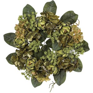 18-Inch Artichoke Wreath