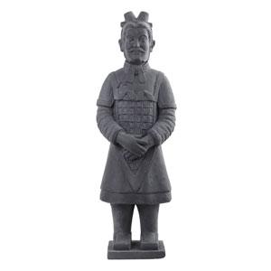 Grey 40-Inch Warrior Statue