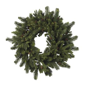 30-Inch Pine and Pinecone Wreath