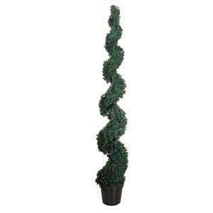 6-Foot Indoor/Outdoor Cedar Spiral Silk Tree