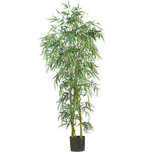 6-Foot  Fancy Style Slim Bamboo Silk Tree