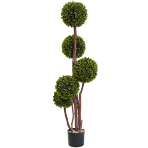 Green 4 Foot Boxwood Topiary