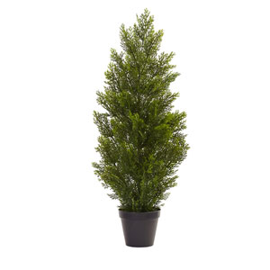 Green 3 Foot Mini Cedar Pine Tree