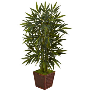 4 Ft. Bamboo Tree in Bamboo Square