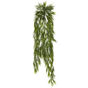 43 In. Mini Bamboo Hanging Bush, Set of Two