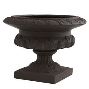 Iron Finished Decorative Urn