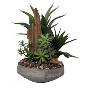 Succulent Faux Garden