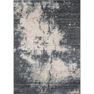 Loft Grey Rectangular: 5 Ft 3 in x 7 Ft 6 in Rug