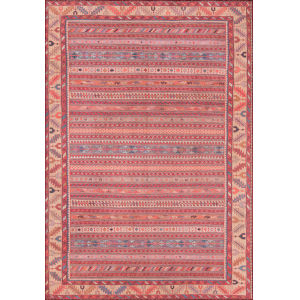 Afshar Multicolor Rectangular: 7 Ft. 6 In. x 9 Ft. 6 In. Rug