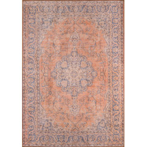 Afshar Copper Runner: 2 Ft. 3 In. x 7 Ft. 6 In.