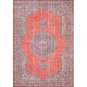 Afshar Red Rectangular: 7 Ft. 6 In. x 9 Ft. 6 In. Rug