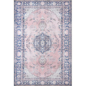 Afshar Pink Rectangular: 7 Ft. 6 In. x 9 Ft. 6 In. Rug