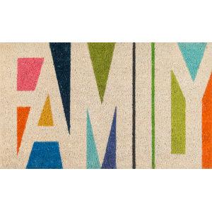 Aloha Family Multicolor Rectangular: 1 Ft. 6 In. x 2 Ft. 6 In. Rug