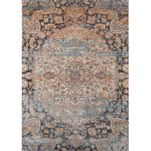 Amelia Navy Rectangular: 9 Ft. 3 In. x 12 Ft. 6 In. Rug