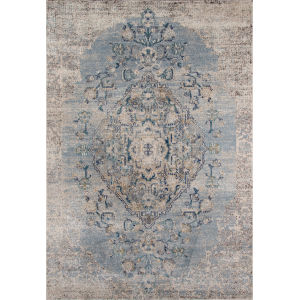 Amelia Light Blue Rectangular: 9 Ft. 3 In. x 12 Ft. 6 In. Rug