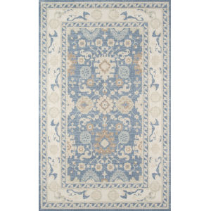 Anatolia Oriental Light Blue Runner: 2 Ft. 3 In. x 7 Ft. 6 In.