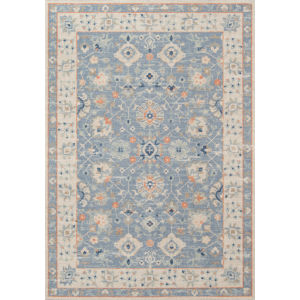 Anatolia Oriental Blue Rectangular: 5 Ft. 3 In. x 7 Ft. 6 In. Rug