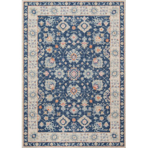 Anatolia Oriental Navy Rectangular: 7 Ft. 9 In. x 9 Ft. 10 In. Rug