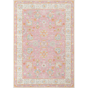 Anatolia Oriental Pink Rectangular: 7 Ft. 9 In. x 9 Ft. 10 In. Rug
