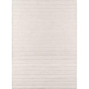 Andes Striped Ivory Rectangular: 7 Ft. 9 In. x 9 Ft. 9 In. Rug